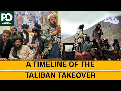 A Timeline of the Taliban Takeover   Pakistan Observer
