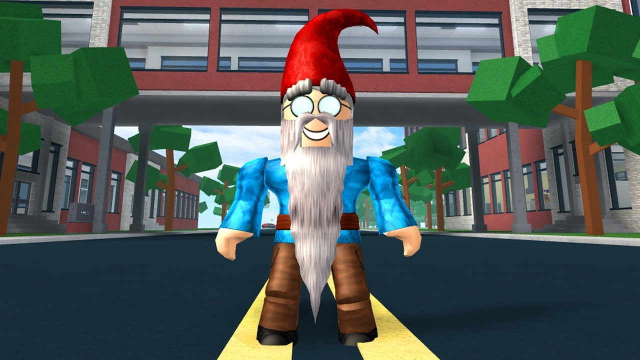 HOW TO BE A GARDEN GNOME IN ROBLOXIAN HIGHSCHOOL!!