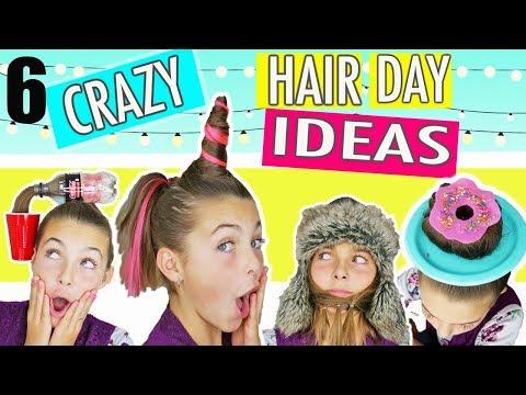 Crazy Hair For Kids Short Hair