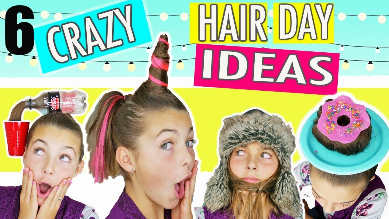 20 Crazy Hair Day Ideas For Girls In 2020 The Trend Spotter