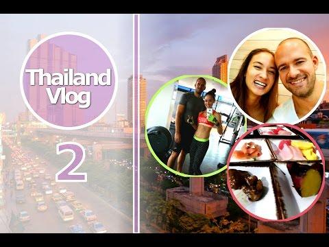 Thailand Vlog 2 - Gym Session, Thai Essen, Kino, Shopping, Lieblingseis
