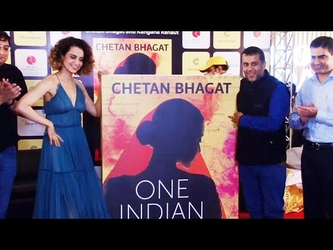 UNCUT - Kangana Ranaut LAUNCH Chetan Bhagat's ONE INDIAN GIRL Novel