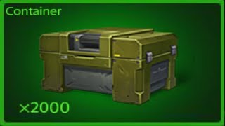 Tanki online - Opening 100 Containers From War + Gold Box Montage + (Biggest Gold Box FAIL)