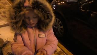 VLOG: Вечерняя прогулка Серафимы ТЦ