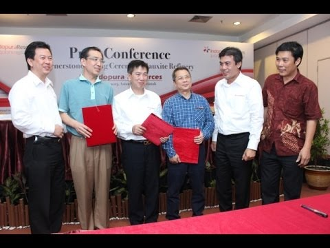 PT Indopura Resources Sign Agreement Pontianak 18 Desember 2013 Kalimantan Barat