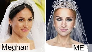 Meghan Markle Makeup Transformation