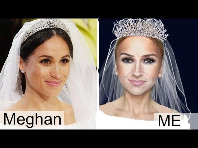 Meghan Markle Makeup Transformation
