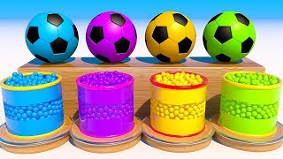 Teach Colors with Soccer Balls
