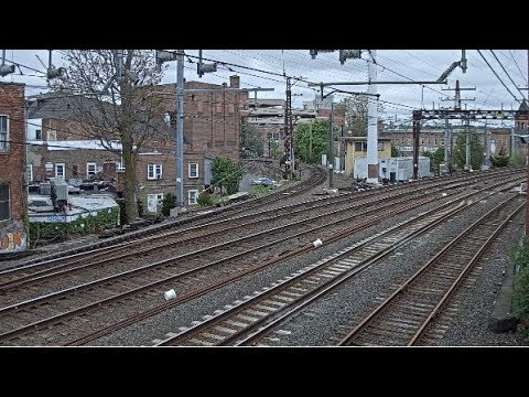 Norwalk, Connecticut USA | SONO Tower - Virtual Railfan LIVE