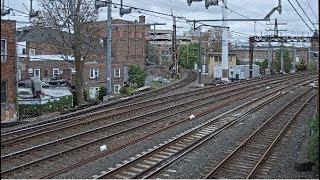 Norwalk, Connecticut USA   SONO Tower - Virtual Railfan LIVE (DEMO)