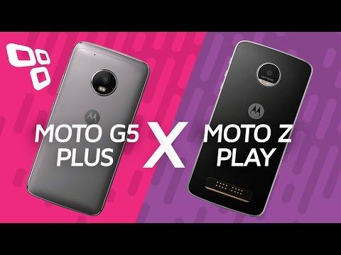 Comparativo: Moto G5 Plus vs. Moto Z Play - TecMundo