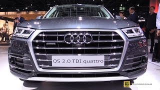 2017 Audi Q5 2.0 TDI Quattro - Exterior and Interior Walkaround - Debut at 2016 Paris Motor Show