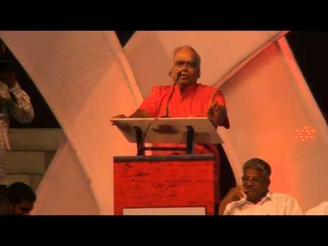 Actor Pyramid Natarajan Speaks at Director Cheran's C2H Inauguration