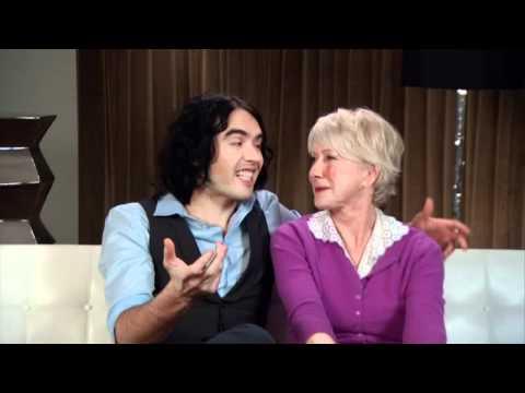 Arthur (2011) Interview - Russell Brand & Helen Mirren