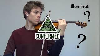 Meme sounds on Violin