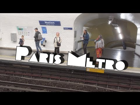 Métro de Paris or How We Get Around Town