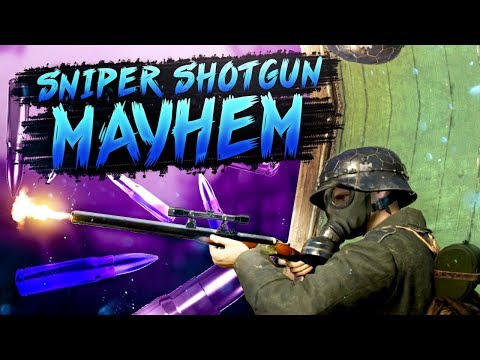 WW2 SnD - This Sniper Shotgun is Awesome!