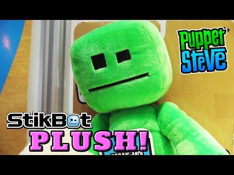 STIKBOT PLUSH! Talking Plush, Action Figures, Danglers, Toy Fair 2018 EXCLUSIVE