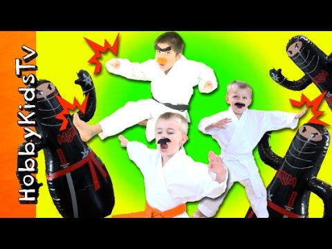 HobbyKarate Super Action Show! HobbyPig + HobbyFrog and HobbyBear Family Fun HobbyKidsTV