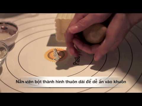 Cách đóng bánh trung thu bằng khuôn lò xo (Molding mooncakes) - Ep. 2