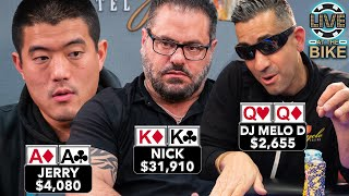 TOTAL CARNAGE WITH POCKET KINGS ♠ Live at the Bike!