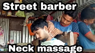 Junior manoj master head,face,arms and body massage with tapping sound //asmr