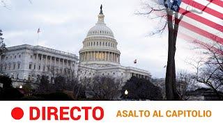 EN DIRECTO 🔴  ASALTO AL CAPITOLIO de seguidores de TRUMP | RTVE Noticias