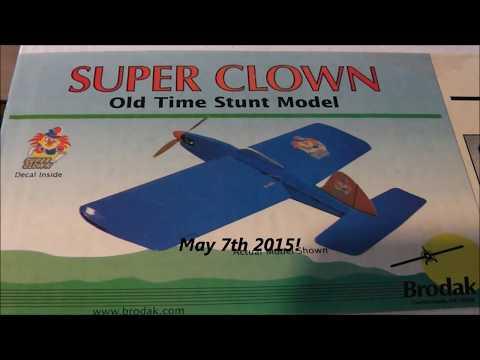 Brodak Super Clown ARF Assembly