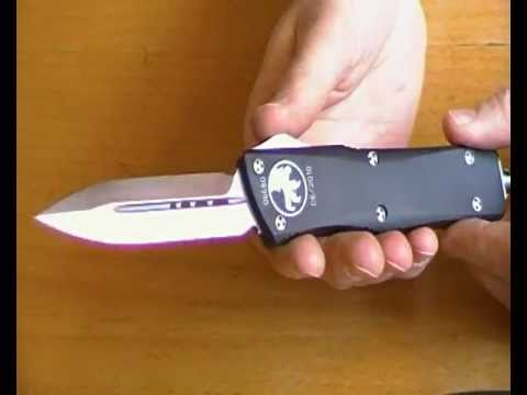 Microtech Combat Troodon D E Otf Automatic Knife In Swiss