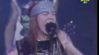 GUNS N ROSES -  Sweet Child O Mine - en vivo