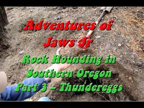 Southern Oregon Rock Hounding Part 3 Thundereggs!!