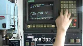 MCT 가공 동영상-sentrol