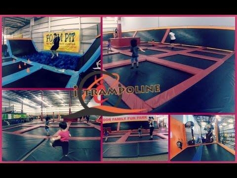 GoPro iTrampoline || Hawaii First Indoor Trampoline Family Fun Park