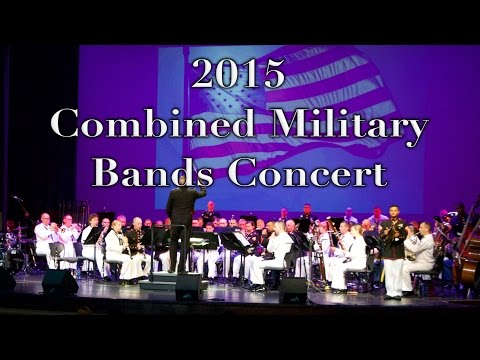 Combined Military Bands Concert 2015