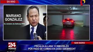 Ministerio Público realiza allanamiento de 12 inmuebles por caso Odebrecht (2/2)