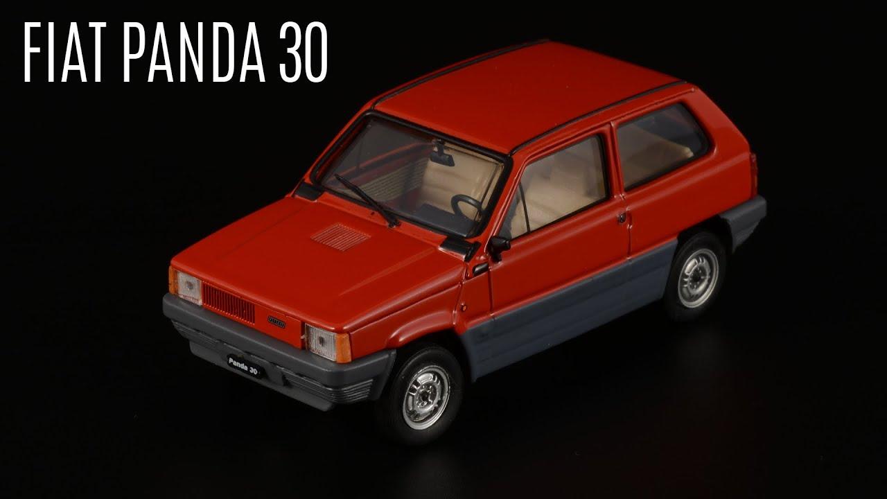 Восьмидесятые: FIAT Panda 30 от Brumm / Масштабные модели автомобилей Италии 1:43 / Сделано в Италии