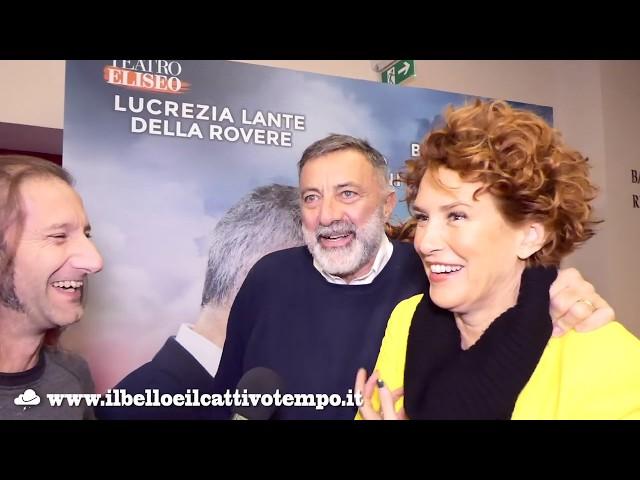 Il cielo sopra il letto - Skylight - Luca Barbareschi - Lucrezia Lante Della Rovere - Teatro Eliseo
