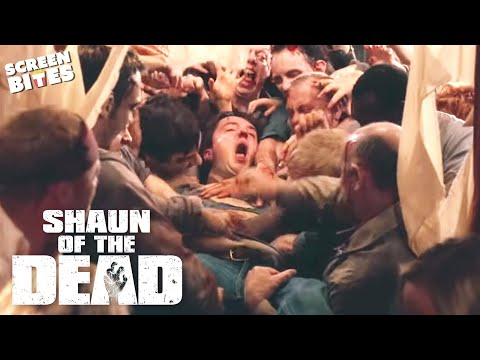 Shaun Of The Dead - You did the right thing. Simon Pegg, Nick Frost, Edgar Wright
