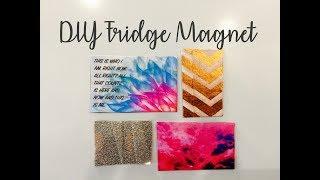 DIY Fridge Magnet