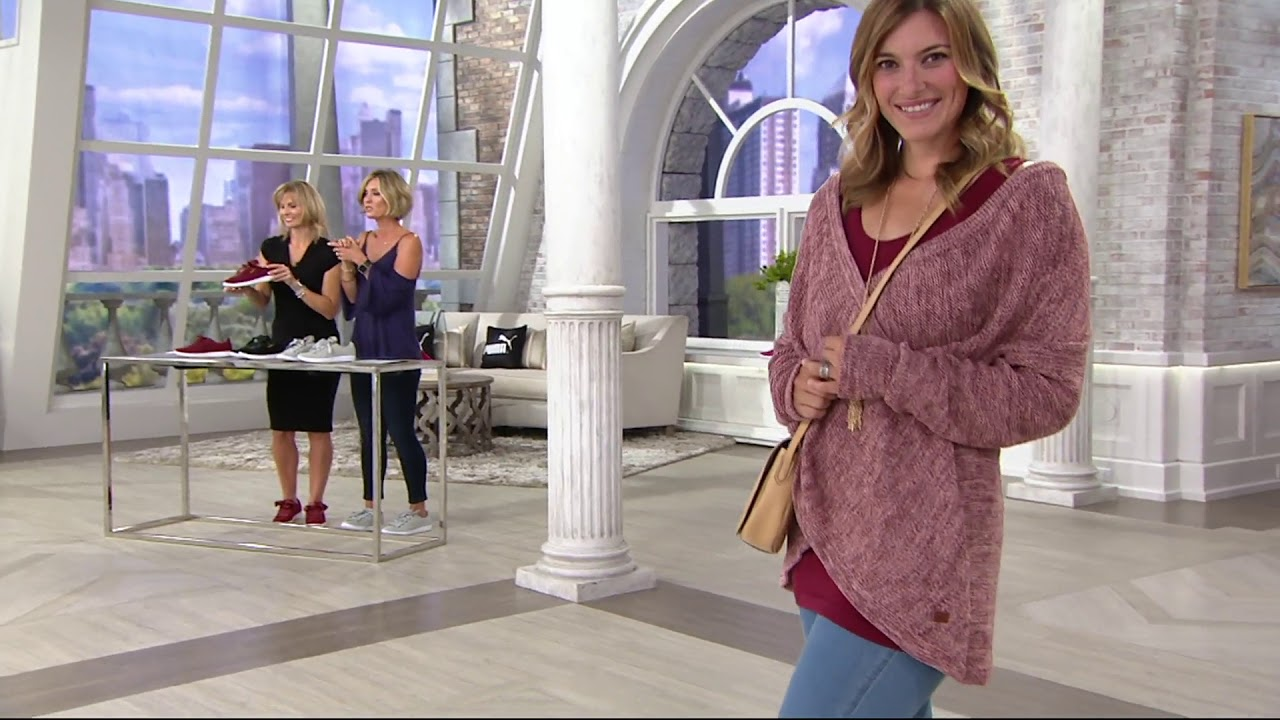 52e121f16d74 PUMA Suede Lace-up Sneakers - Vikky Ribbon on QVC - YouTube