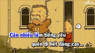 [ Karaoke HD ] One more night Việt version