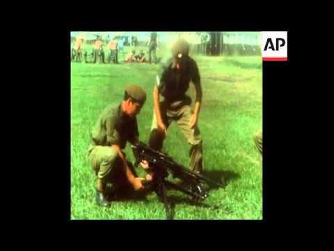 LIB 3-2-72 TROOPS TRAING IN THE BRITISH GARRISON IN BELIZE