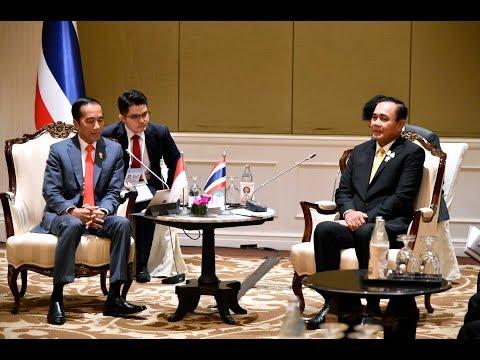 นายกรัฐมนตรีหารือทวิภาคีกับประธานาธิบดีอินโดนีเซีย