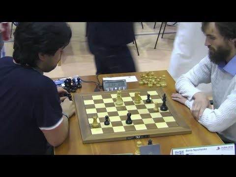 MOST EXCITING BLITZ GAME EVER!!! Hikaru Nakamura Vs Boris Savchenko - World Blitz Chess 2014