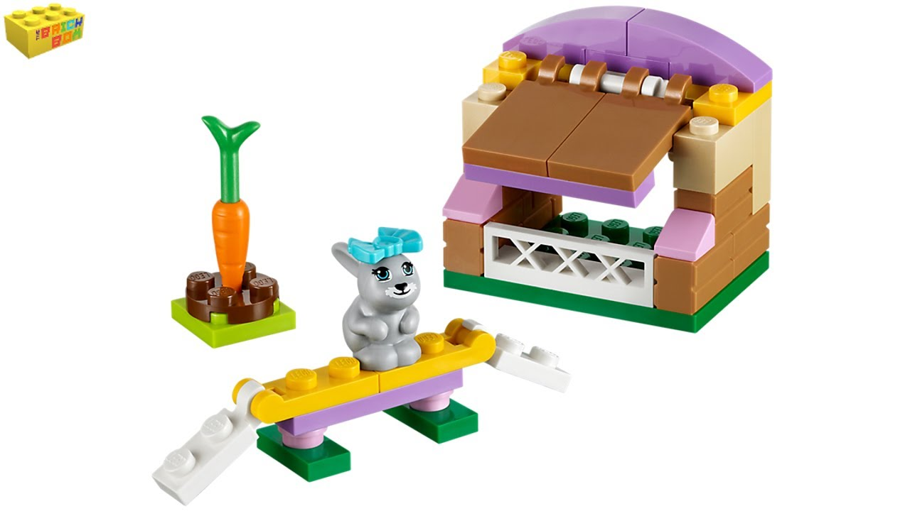 LEGO Friends Bunny's Hutch 41022 Series 2 Review - YouTube