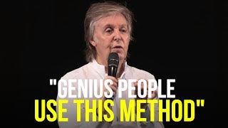 The Method of The Genius People (This Is What They Are Doing Differently)
