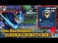 Stenly Cuma Bisa Haya? Gs Ku 2K Match Bro! Review Skin Legend Gusion | Mobile Legends