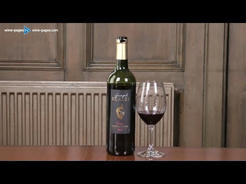 Joseph Scalzi, Corsican Red Wine 2016, wine review