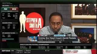 💌 Stephen A harsh Knicks fire Head Coach David Fizdale (4-18 record; have lost last 8) | First Ta