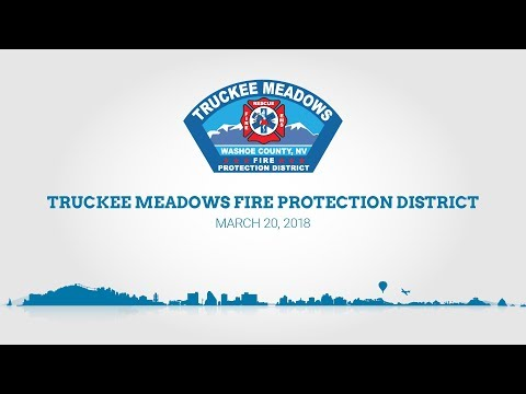 Truckee Meadows Fire Protection District Board of Fire Commissioners | March 20, 2018
